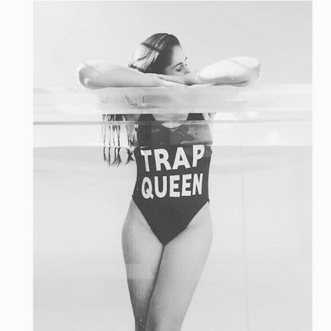 Trap Queen One Piece Swimsuit