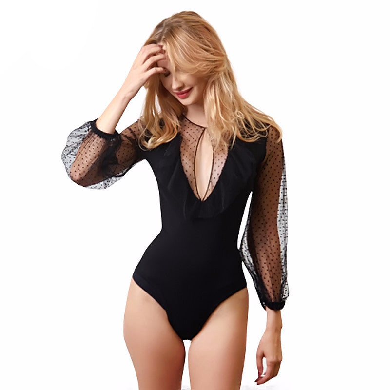 Destiny Black Bodysuit