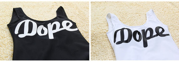 Dope One Piece Swimsuit -  - 2