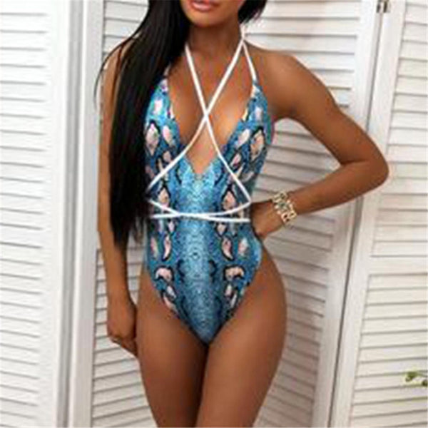 Sicily High Cut One Piece Swimsuit