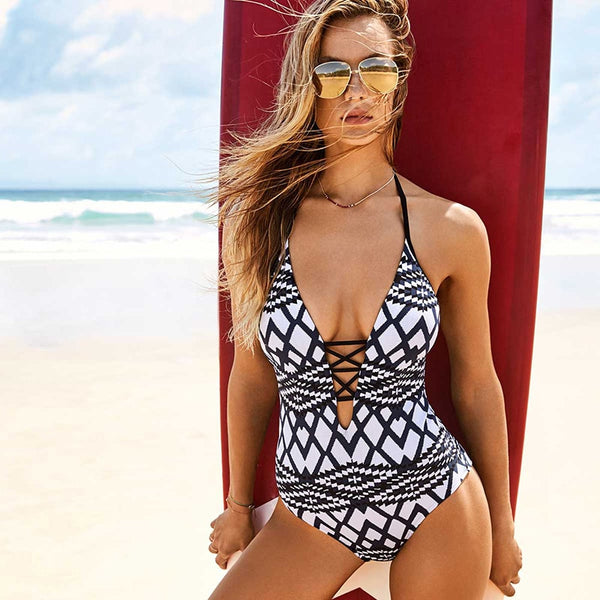 Paisley One Piece Swimsuit