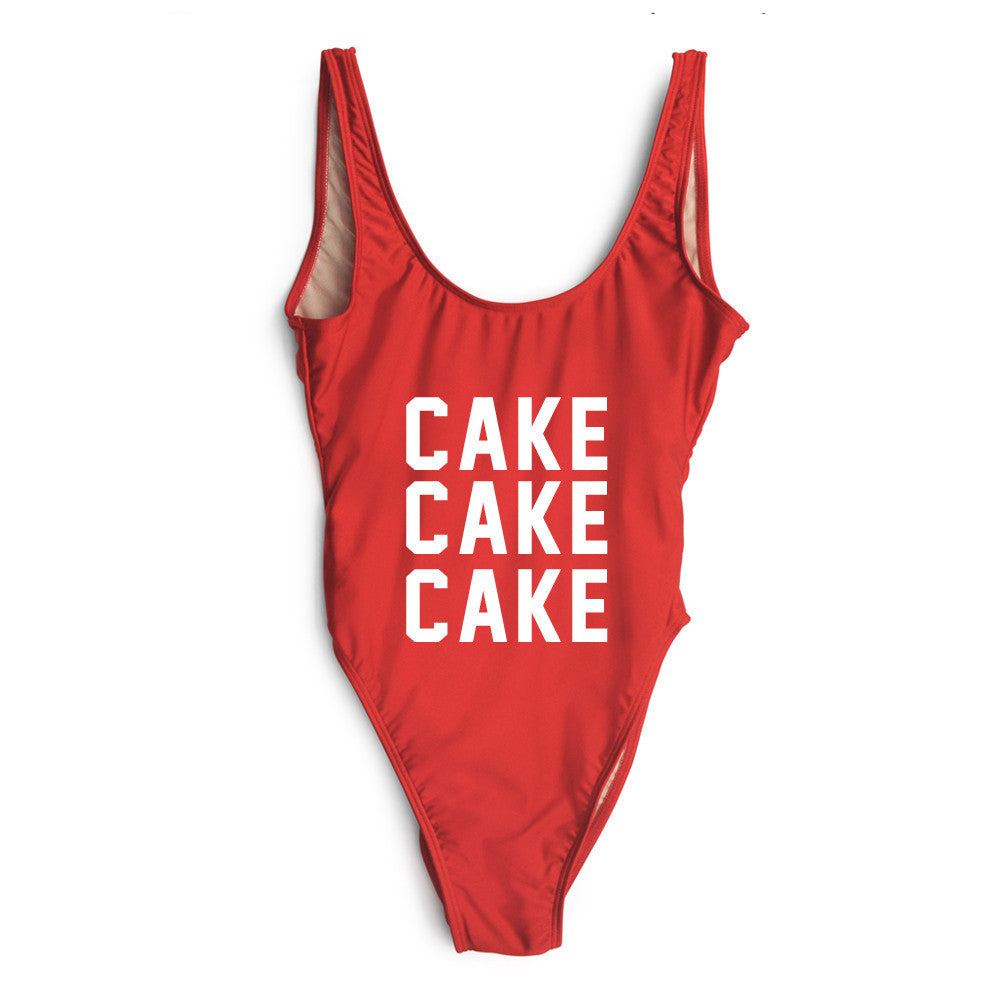 Cake Cake Cake One Piece Swimsuit