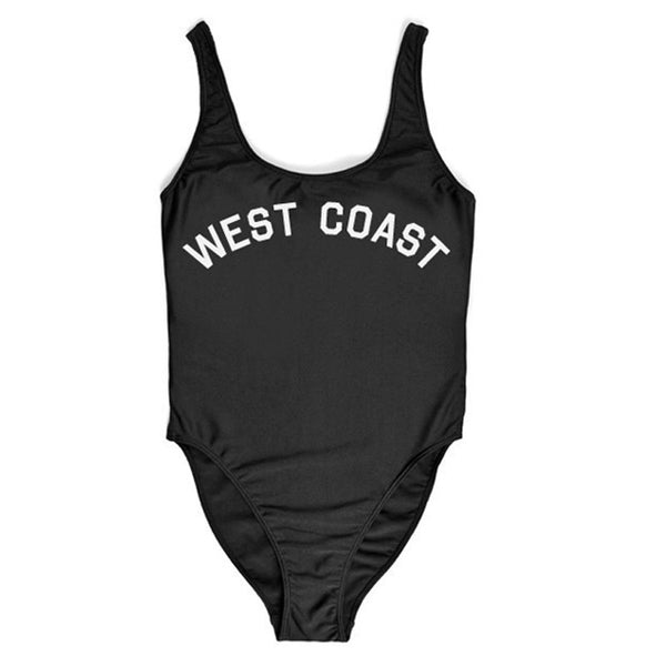 East Coast West Coast One Piece Swimsuit -  - 3