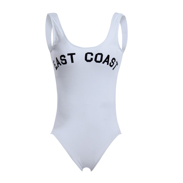 East Coast West Coast One Piece Swimsuit -  - 5