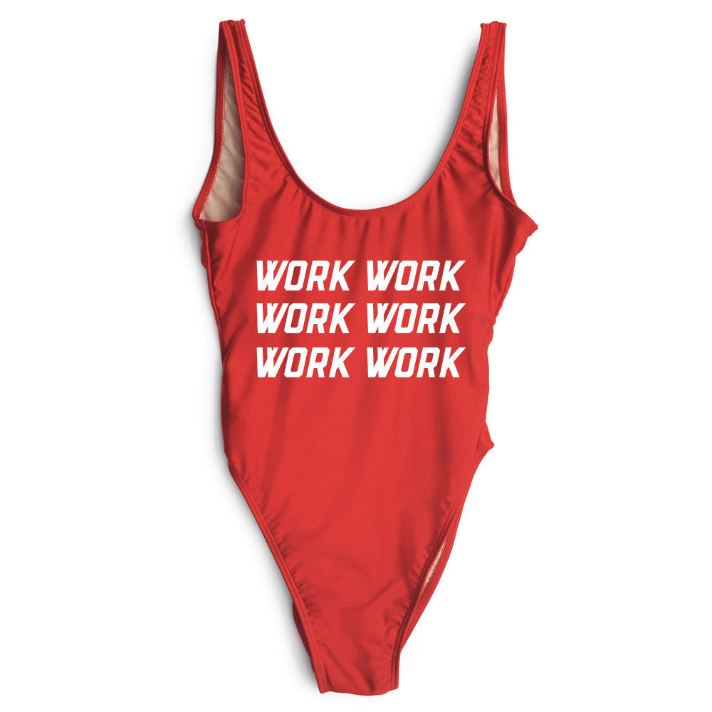 Work Work Work One Piece Swimsuit