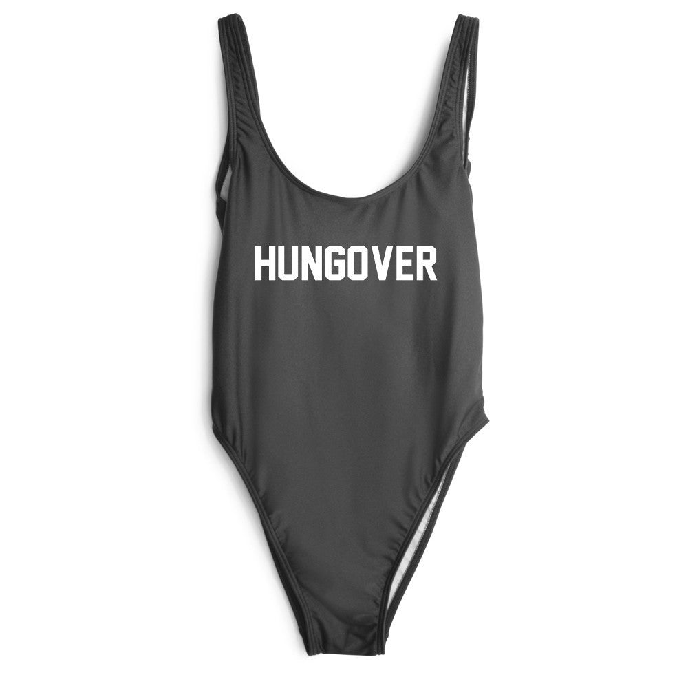 Hungover One Piece Swimsuit
