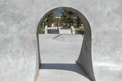 gap quarterpipe