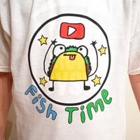 Fish Time Youtube t-shirt