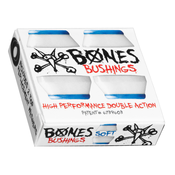 Bones Bushings - White - Soft