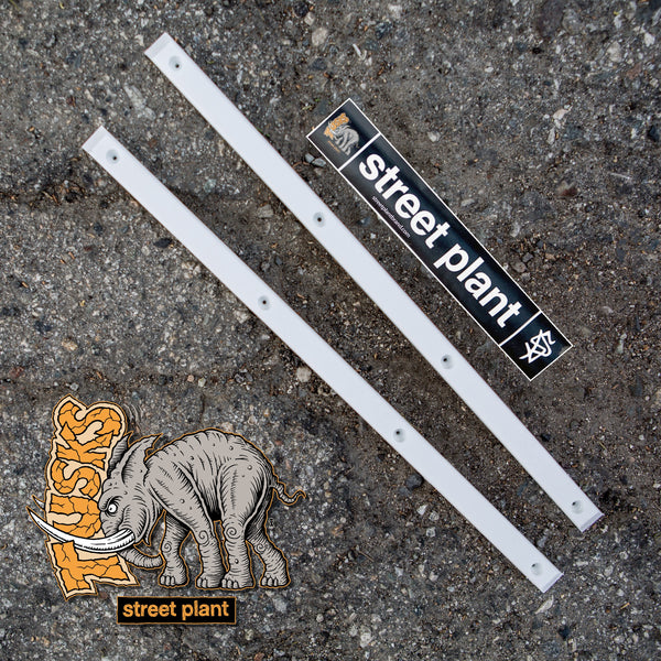 Street Plant - TUSKS RAILS - White