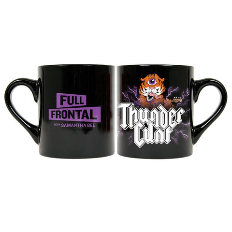 Full Frontal with Samantha Bee Thunder Cunt Black Coffee Mug
