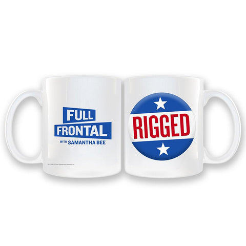 Full Frontal with Samantha Bee Rigged White Coffee Mug