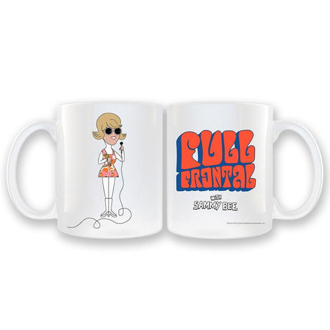Full Frontal with Samantha Bee Sammy Bee White Coffee Mug