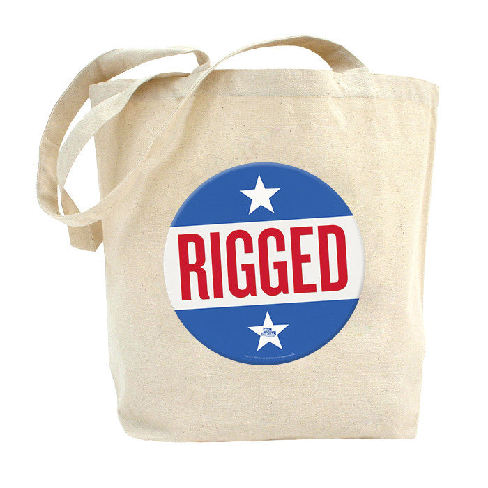 Full Frontal with Samantha Bee Rigged Natural Canvas Tote