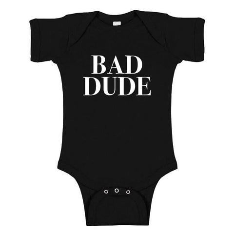 Full Frontal with Samantha Bee Bad Dude Infant Snapsuit