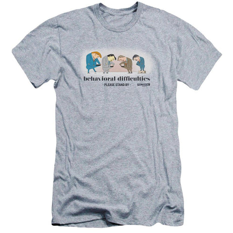 Full Frontal with Samantha Bee Behavioral Difficulties Adult Athletic Gray T-Shirt