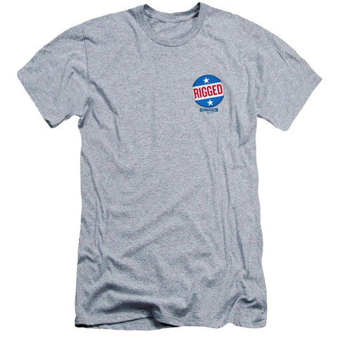 Full Frontal with Samantha Bee Rigged Adult Athletic Gray T-Shirt