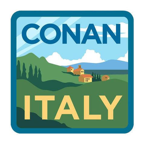 Conan Italy Coaster Set