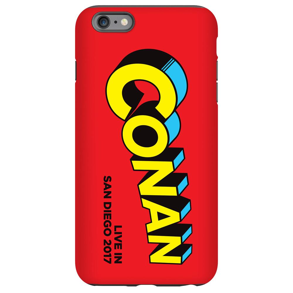 Conan Live in San Diego 2017 Red Phone Case