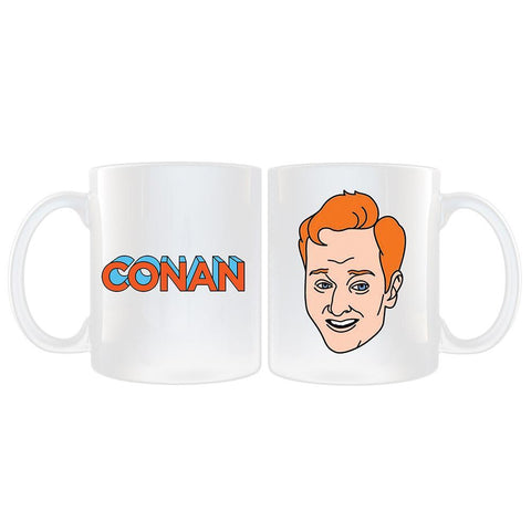 Conan Face White Mug