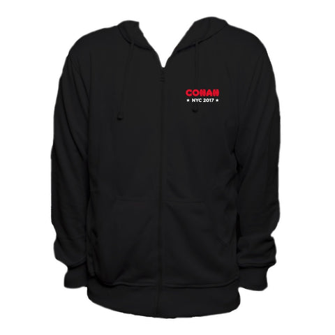 Conan Live at the Apollo Logo Hoodie