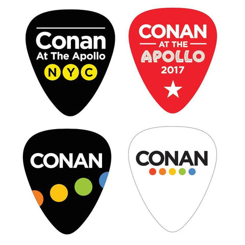 Conan Live at the Apollo Guitar Picks & Tin