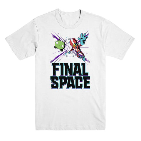 Final Space Gary Flying Unisex Tee