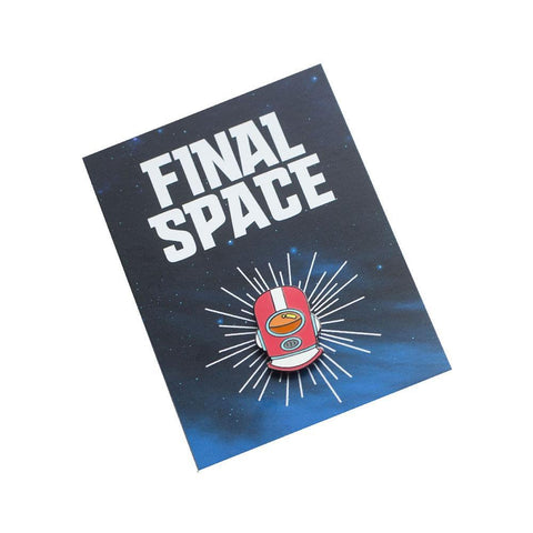 Final Space Gary Helmet Pin