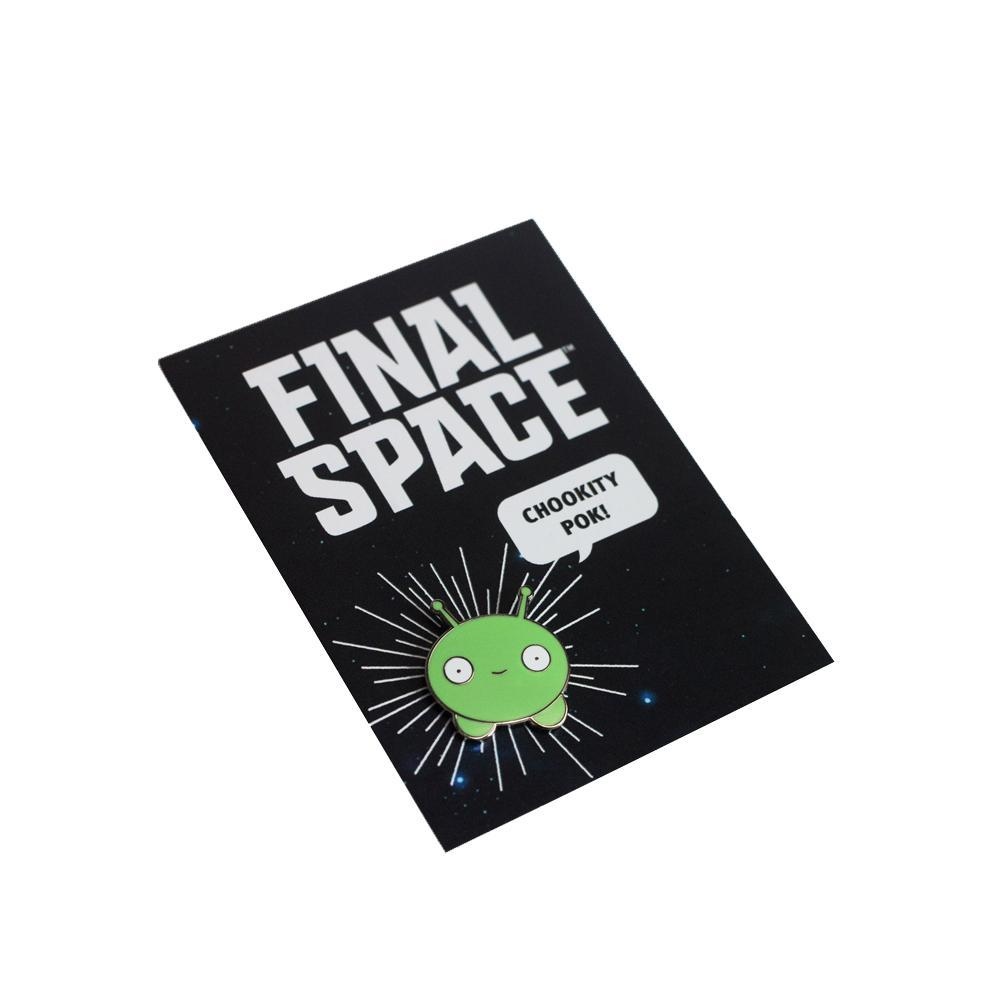 Final Space Mooncake Pin