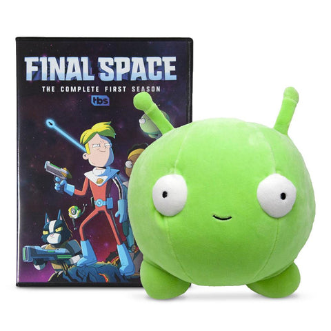 Final Space Season One DVD and Mooncake Plush Bundle