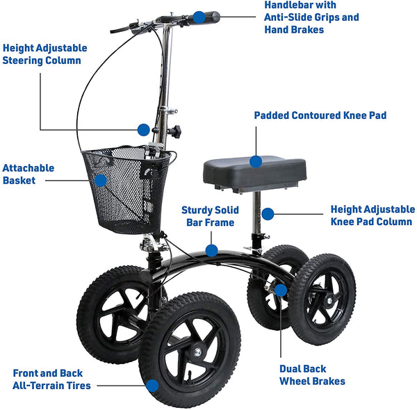 BodyMed® All-Terrain Knee Walker