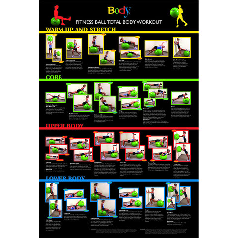 Body Sport® Exercise Ball Poster