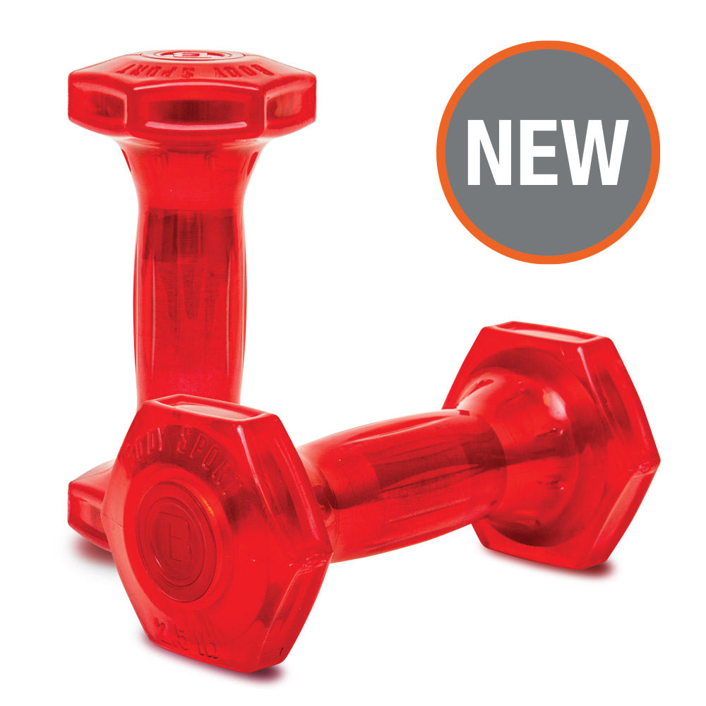 Jellz™ Urethane Covered Dumbbells