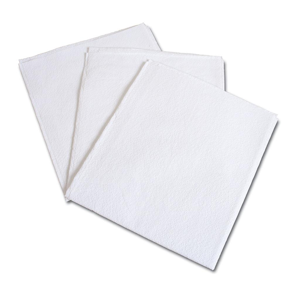 BodyMed® 2-Ply Drape Sheets – White Disposable Paper Drape Sheets for Nonsurgical Draping – case of 100 Sheets