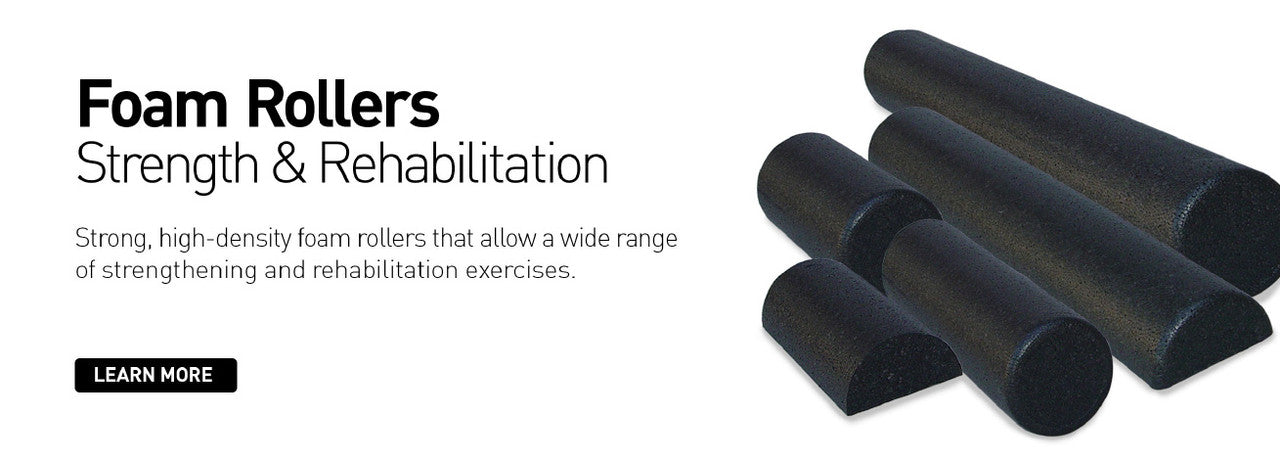 Body Sport® High Density Foam Rollers