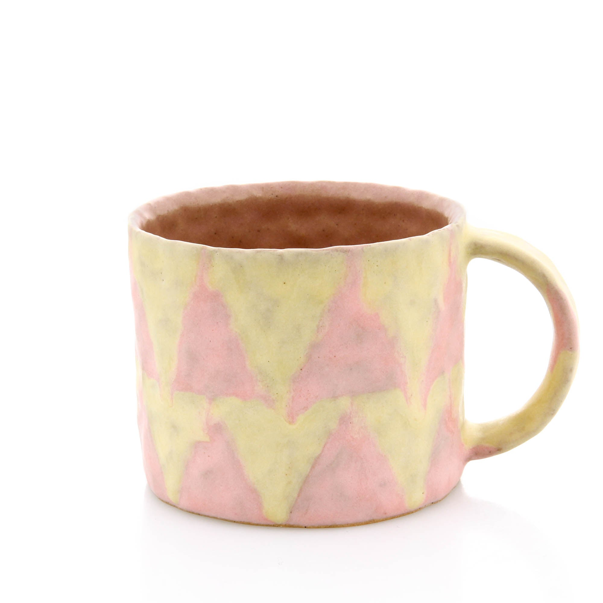 Kelsie Rudolph, Mug in Pink and Yellow