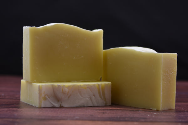 Bergamot & Lemon Essential Oil 4 oz. -  Handcrafted Bar Soap