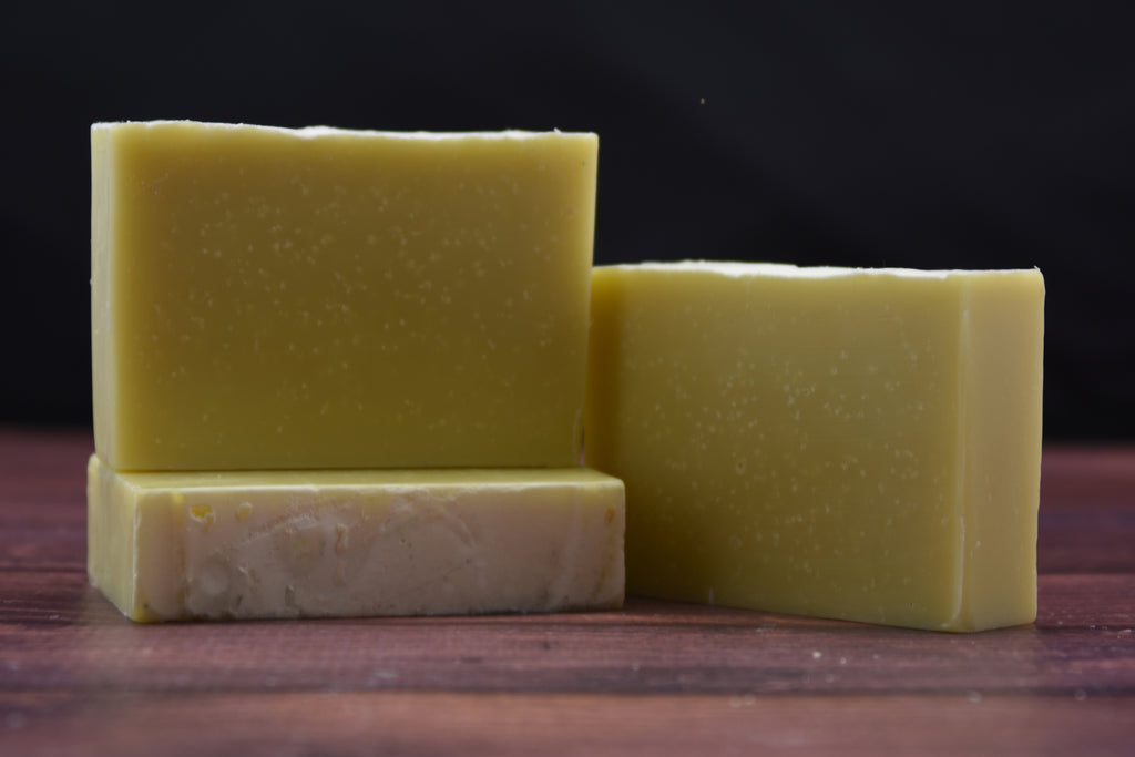Bergamot, Patchouli & Cedarwood Essential Oils 4 oz. -  Handcrafted Bar Soap