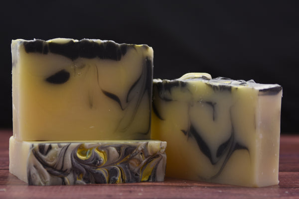 Chamomile and Slate 4 oz. - Handcrafted Bar Soap