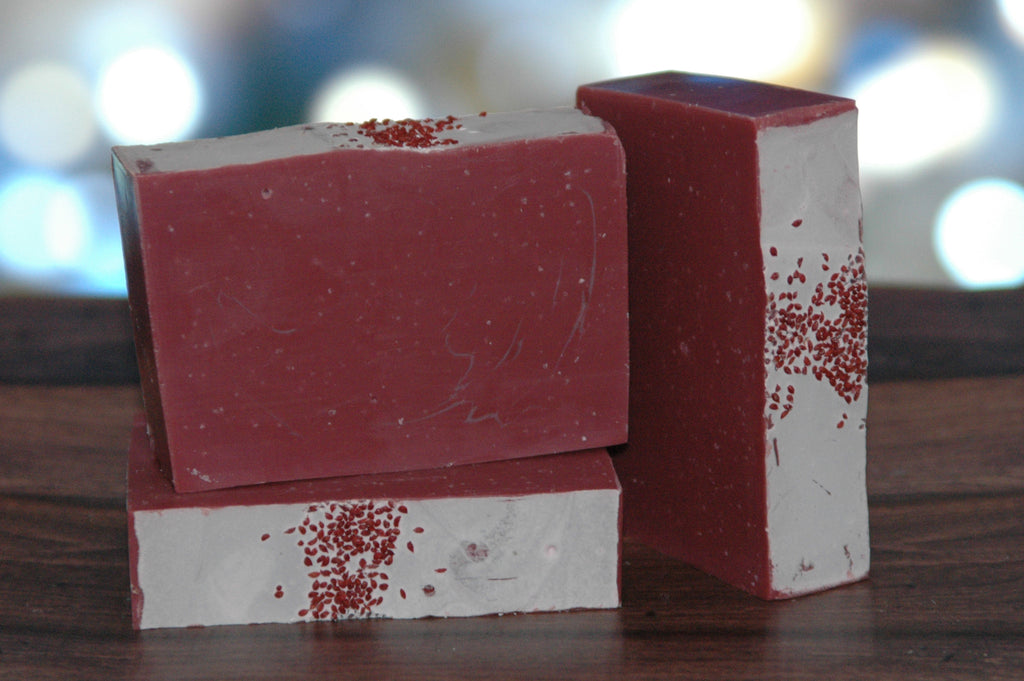 Cranberry Scent 4 oz. - Handcrafted Soap Bar