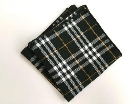Mixed Plaid Square - square - Ply Tie
