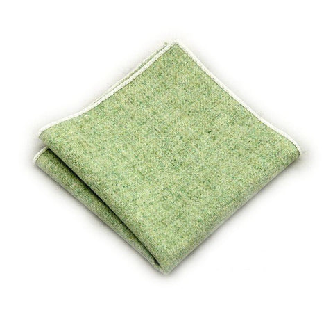 Green Wool Square - square - Ply Tie
