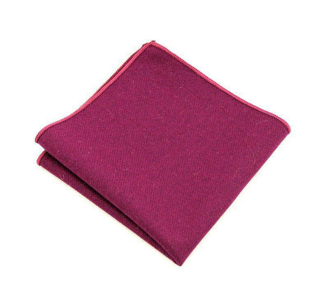 Purple Wool Square - square - Ply Tie