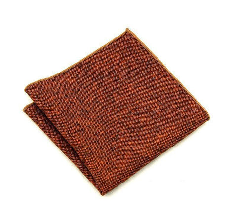 Orange Wool Square - square - Ply Tie