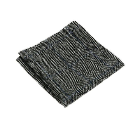 Black Wool Square - square - Ply Tie