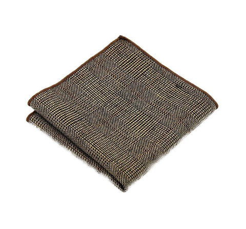 Brown Wool Square - square - Ply Tie