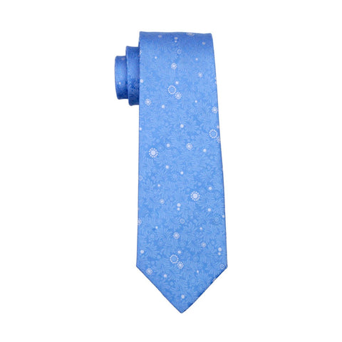 Blue Silence Tie - neck - Ply Tie