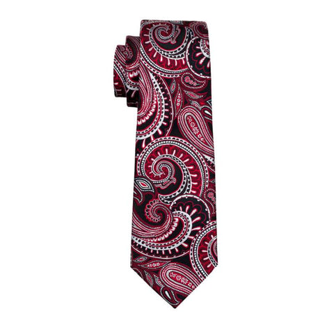 Slaying Moon Red Tie - neck - Ply Tie