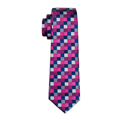 Colorful Glass Tie - neck - Ply Tie
