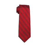 Red Licorice Tie - neck - Ply Tie